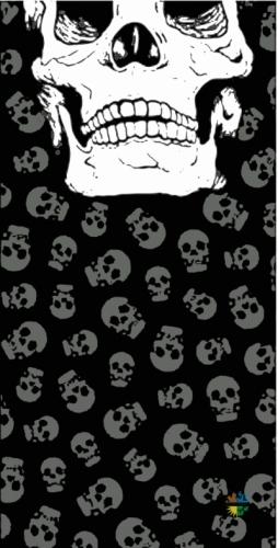 Loco Active Skull 002 Boyun Bağı