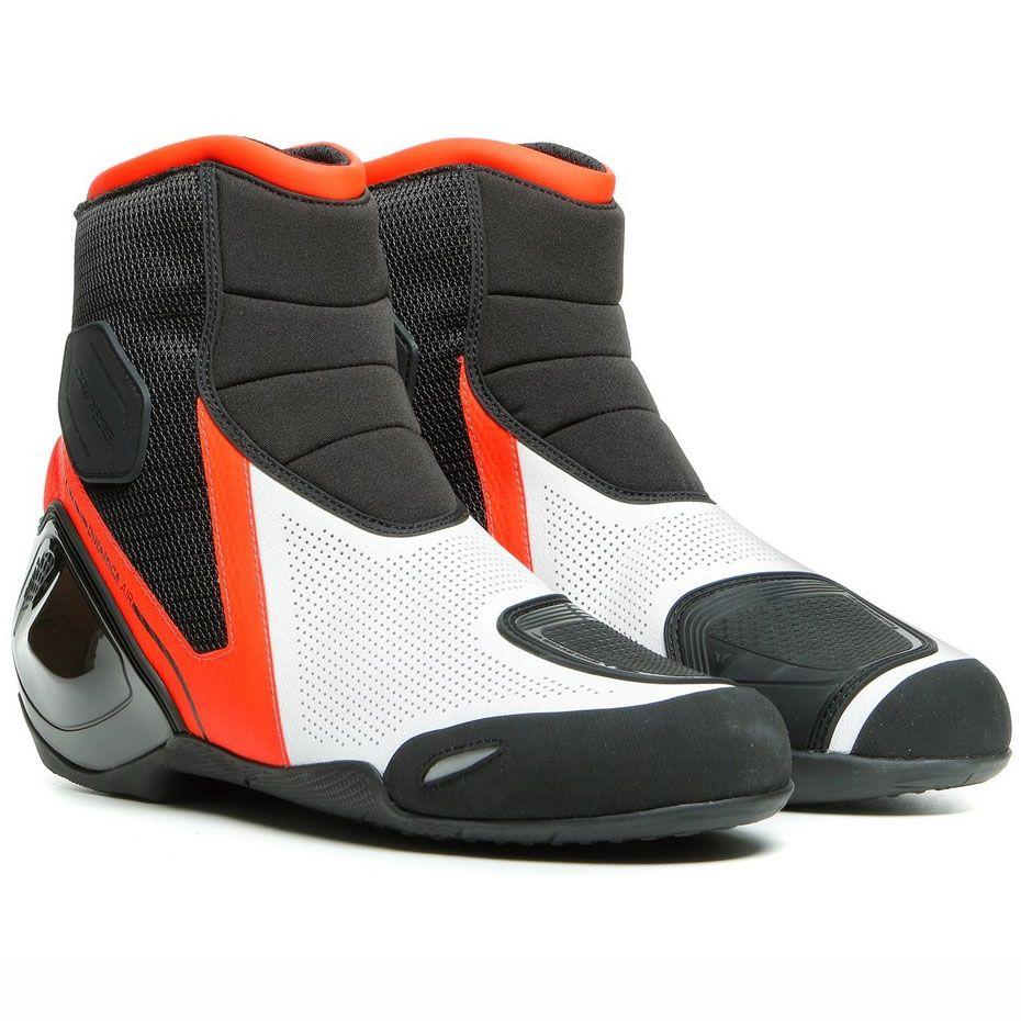 Dainese Dinamica Air Yazlık Ayakkabı (Siyah-Kırmızı-Beyaz)