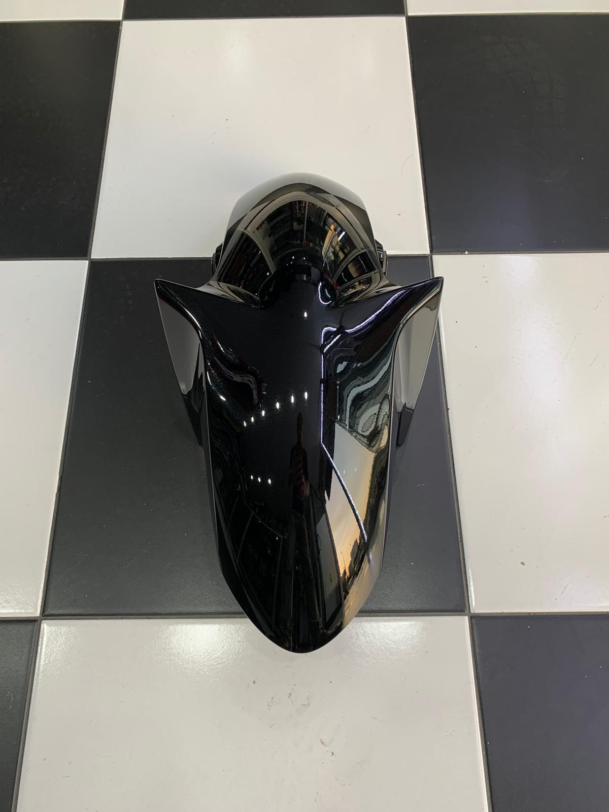 Yamaha Yzf R25 2015-2018 Parlak Siyah Ön Çamurluk Orj