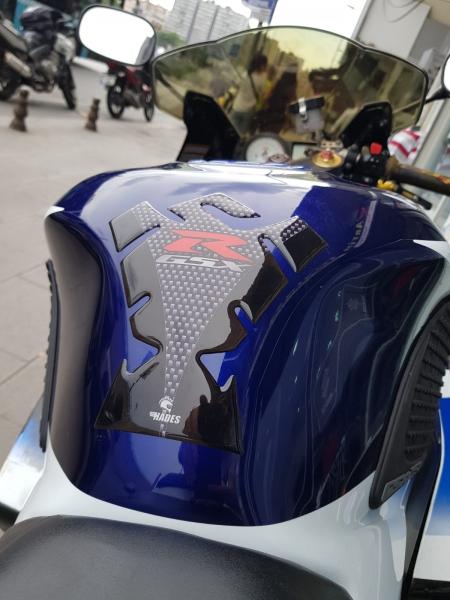 Suzuki Gsxr Carbon Tank Pad