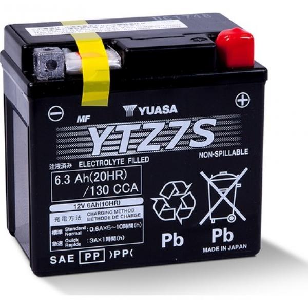 KTM 530 EXC 2008-2012 Yuasa Ytz7S Motosiklet Aküsü