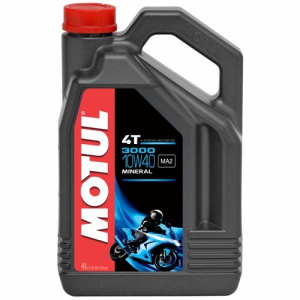 Motul 3000 10W40 Mineral Motosiklet Yağı (4 Lt.)