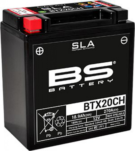 BS BTX20CH (SLA) Motosiklet Aküsü