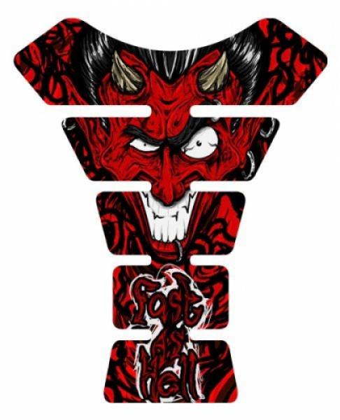 Prosev Tank Pad 16 - Kırmızı Şeytan Desenli