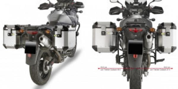 Suzuki DL 650 V-Strom (04 > 11) Alüminyum Yan Çanta Taşıyıcısı (Givi PL532CAM)