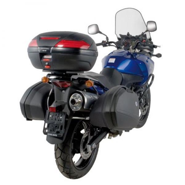 Suzuki DL 1000 V-Strom (02 > 11) / Kawasaki KLV 1000 (04 > 10) Yan Çanta Taşıyıcısı (Givi PLX528)Suzuki