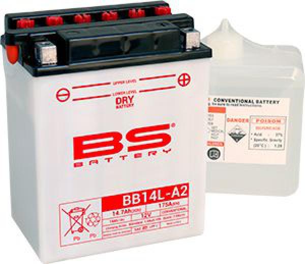 BS DRY-BB14L-A2 Motosiklet Aküsü