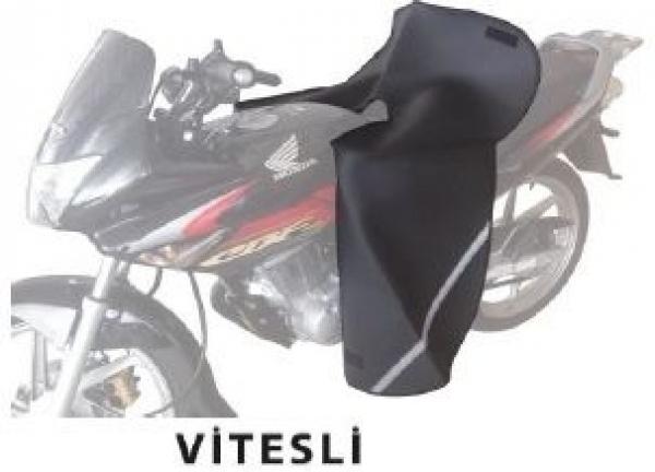 Motosiklet Diz Örtüsü Deri (Vitesli Motosiklet İçin)