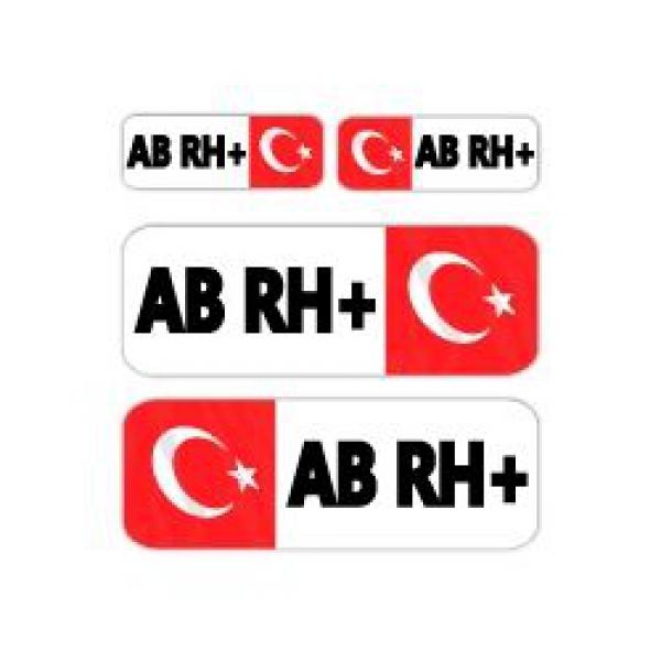 Mr.Sticker BT07 - AB-RH+P Kan Grubu Sticker
