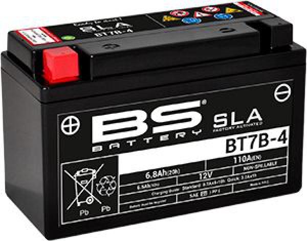 BS SLA-BT7B-4 (SLA) Motosiklet Aküsü
