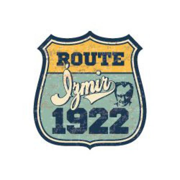 Mr.Sticker ROU11 Özel Seri Route İzmir 1922 Etiketi