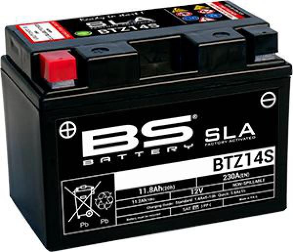 BS BTZ14S (SLA) Motosiklet Aküsü
