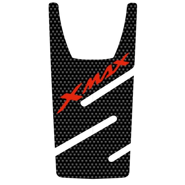 Hades Yamaha X-Max Tank Pad Carbon (Kırmızı)