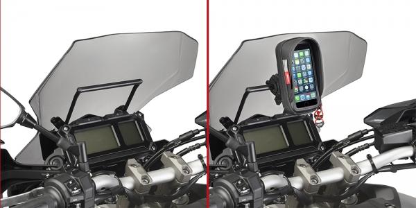 Yamaha MT-09 Tracer (15-17) Ön Cam Arkası Aksesuar Tutacağı (Givi FB2122)