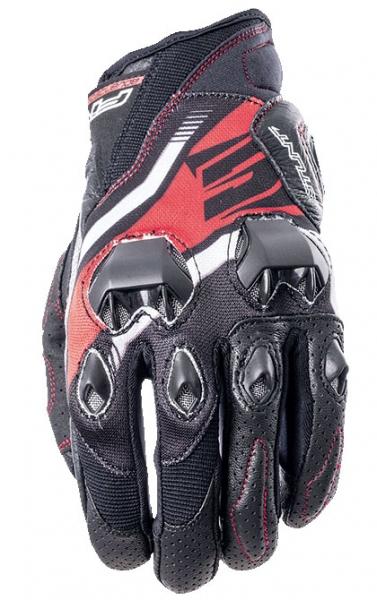 Five Gloves Stunt Evo Icon Red Yazlık Eldiven