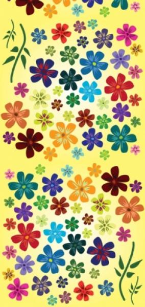 Loco Active Flowers Boyun Bağı