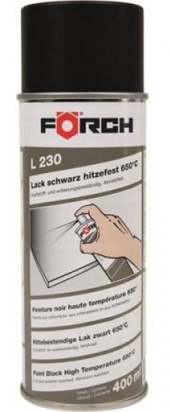 Förch Isıya Dayanıklı Eksoz Boyası Siyah (400 ml)