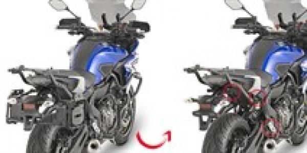 Givi Plr2130 Yamaha Mt-07 Tracer (16-18) Yan Çanta Taşıyıcı