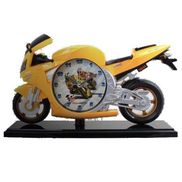 Luxury Motosiklet Masa Üstü Saati (25 x 15 cm)
