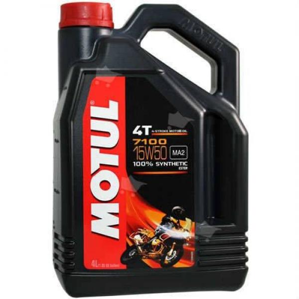 Motul 7100 15W-50 %100 Sentetik Motosiklet Yağı (4 Lt.)