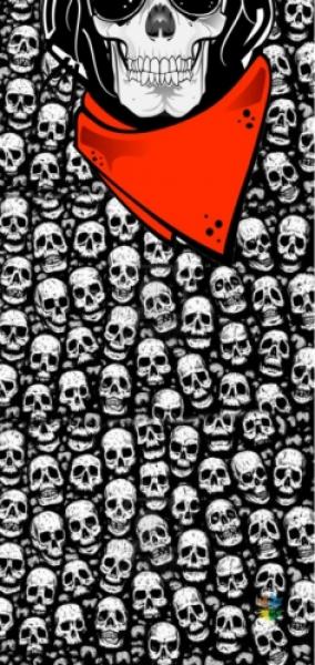 Loco Active Skull 009 Boyun Bağı