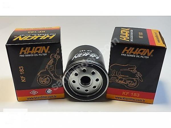KF183 KHAN 2003-2007 Aprilia Scarabeo 200 hiflo yağ filtresi