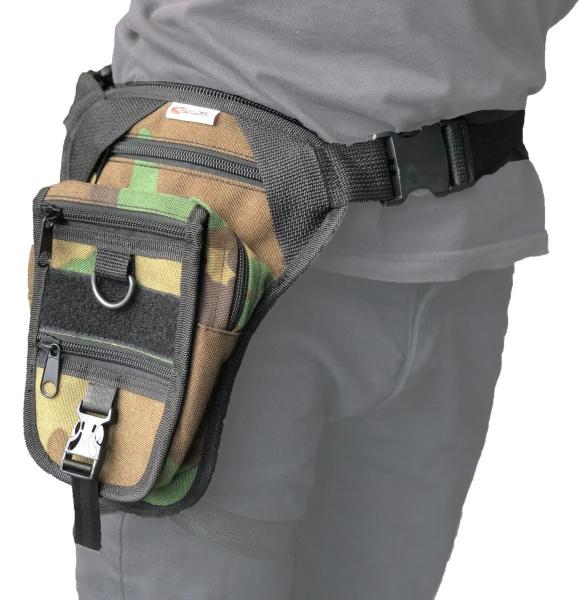 Armode Bacak Çantası Kamuflaj Desenli (Silah Kılıflı)