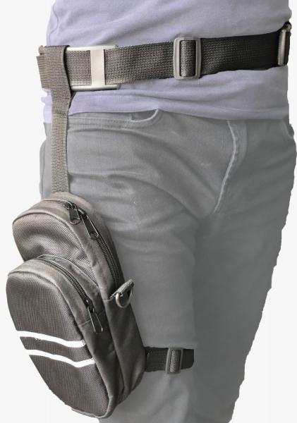 Armode Bacak Çantası Kemerli ve 2 Cepli
