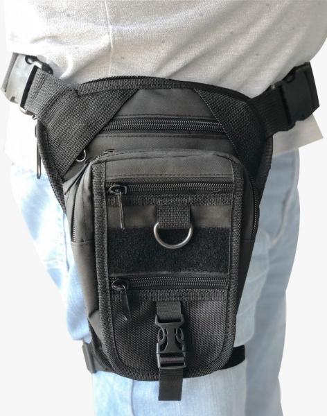 Armode Bacak Çantası Siyah (Silah Kılıflı)