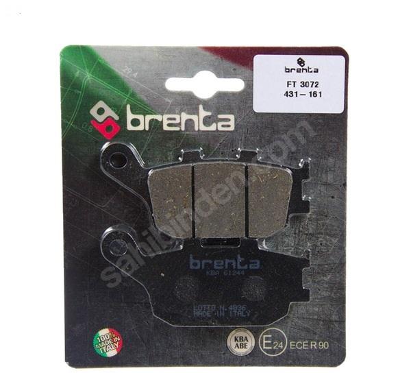 Yamaha Fazer 8 ABS arka fren balatası brenta organik balata