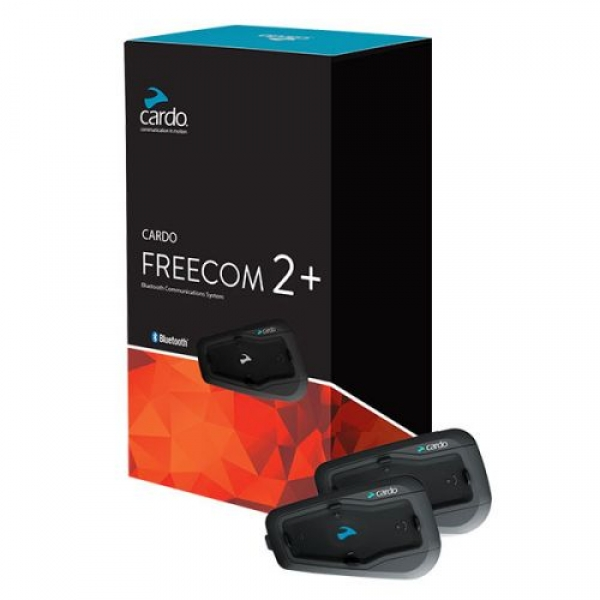 CARDO FREECOM 2 + DUO BLUETOOTH VE INTERCOM (IKILI PAKET)