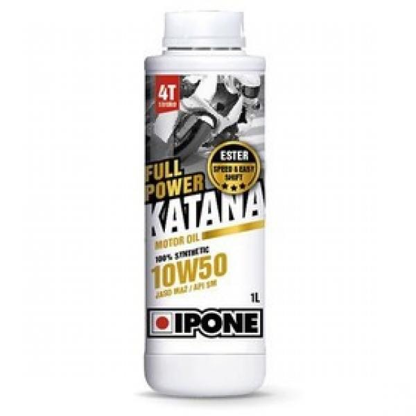 Ipone Full Power Katana 10W50 %100 Sentetik Motosiklet Yağı (1 Litre)