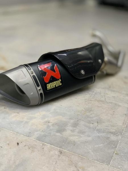 Honda Forza 250 full system akrapovic egzoz