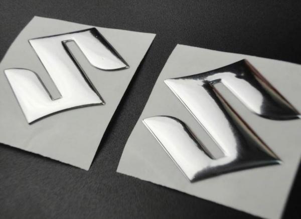 suzuki Oem Depo Logo Arma Stıcker kabartma Seti 2 li