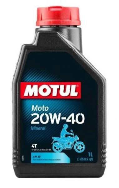Motul Moto 20W-40 Mineral Motosiklet Yağı (1 Litre)