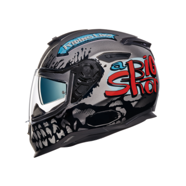 NEXX SX.100 BIG SHOT GRI KASK