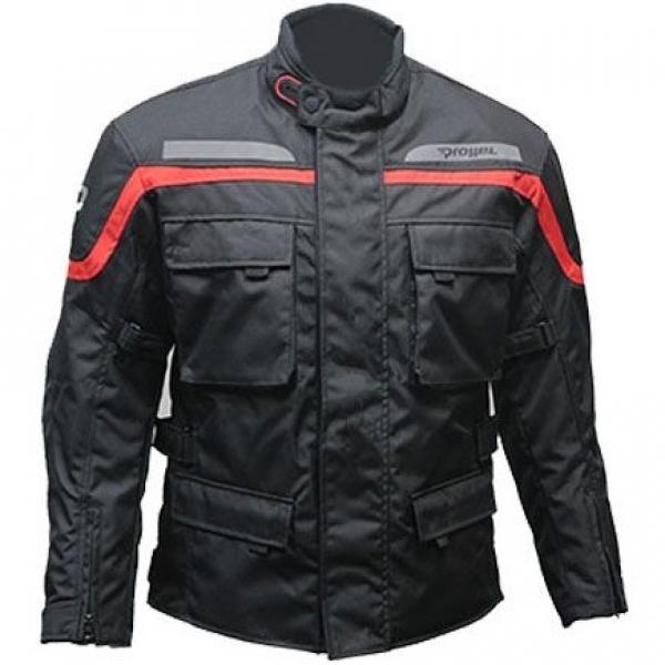 Prohel Asura Kışlık Motosiklet Montu (Kırmızı-Siyah)