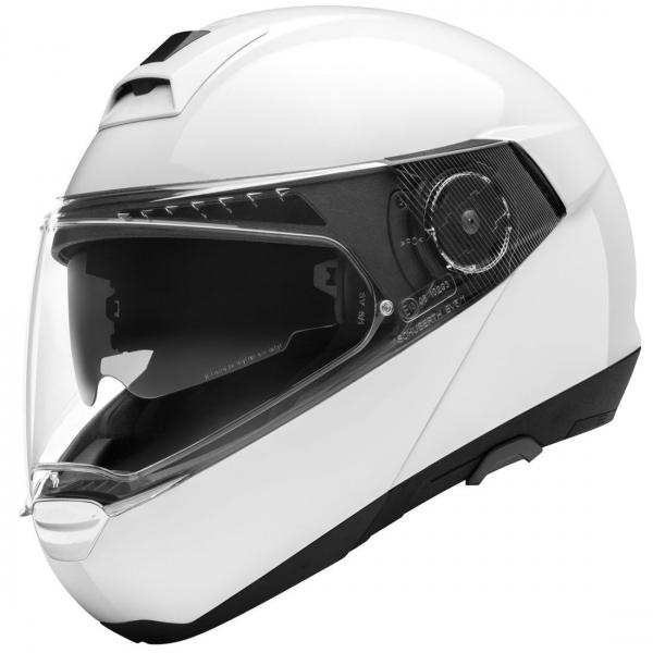 Schuberth C4 Pro Çeneden Açılır Kask (Beyaz)