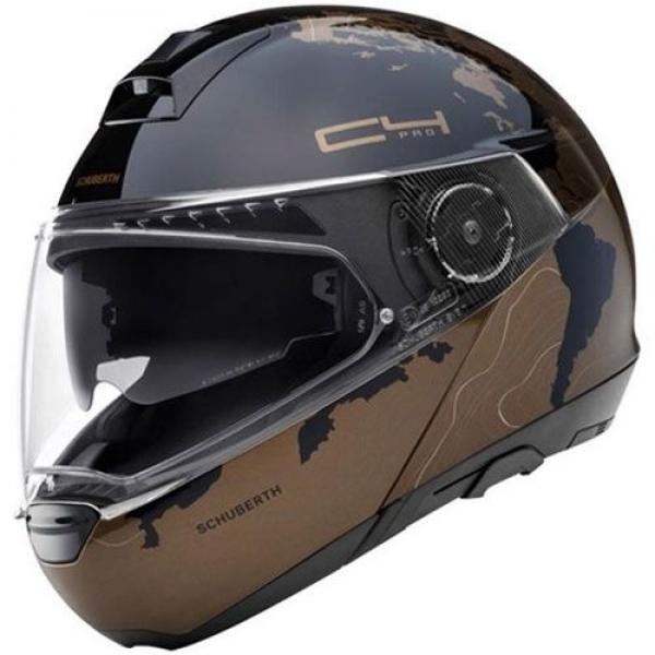 Schuberth C4 Pro Magnitude Brown Çeneden Açılır Kask