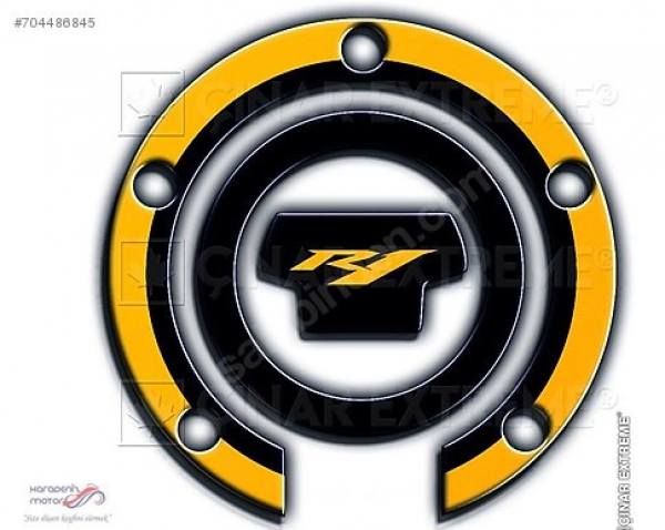 Yamaha YZF R1 Yellow Depo Kapağı Pad
