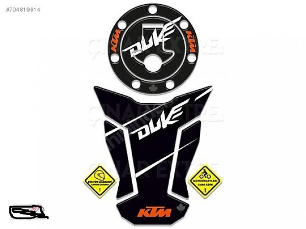 2016 KTM Duke 125 200 390 Fabric Tank & Depo Pad Takım
