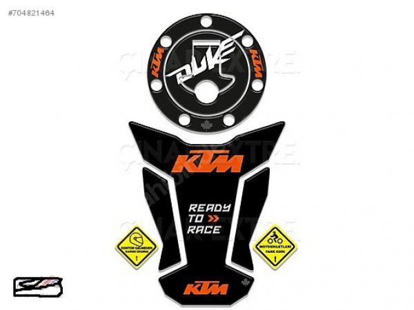 2016 KTM Duke 125 200 390 Ready 2 Race Tank & Depo Pad Takım