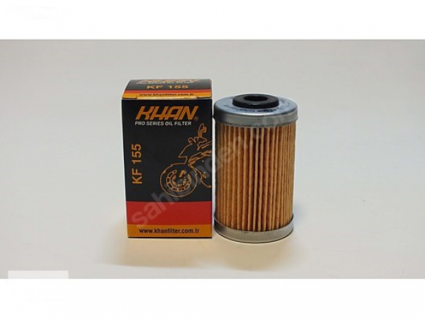 KF155 KHAN yağ filtresi 2003-2007 KTM 525 EXC yağ filtresi