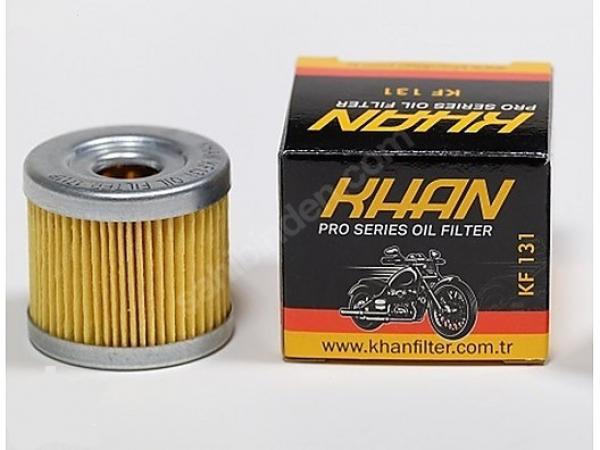KF131 KHAN yağ filtre 2007-2016 Suzuki Burgman 400 yağ filtresi