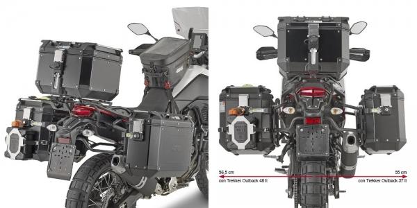 Yamaha Ténéré 700 (19 > 20) Yan Çanta Taşıyıcısı (Givi PLO2145CAM)